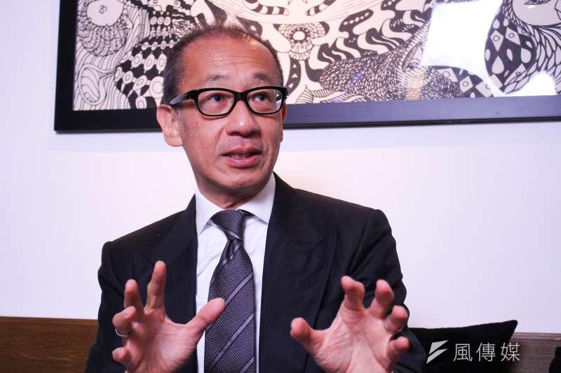 晶華國際酒店集團董事長潘思亮表示,去年精品業績成長2成,居全球之冠,晶華可望為全球上市飯店集團唯一或唯二有獲利者。(蔡親傑攝)