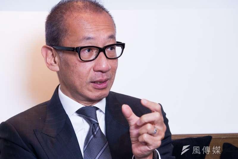 晶華酒店集團董事長潘思亮呼籲,政府應立即加大紓困,避免失業潮浮現。(蔡親傑攝)