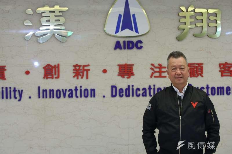 20210126-漢翔公司董事長胡開宏。(柯承惠攝)