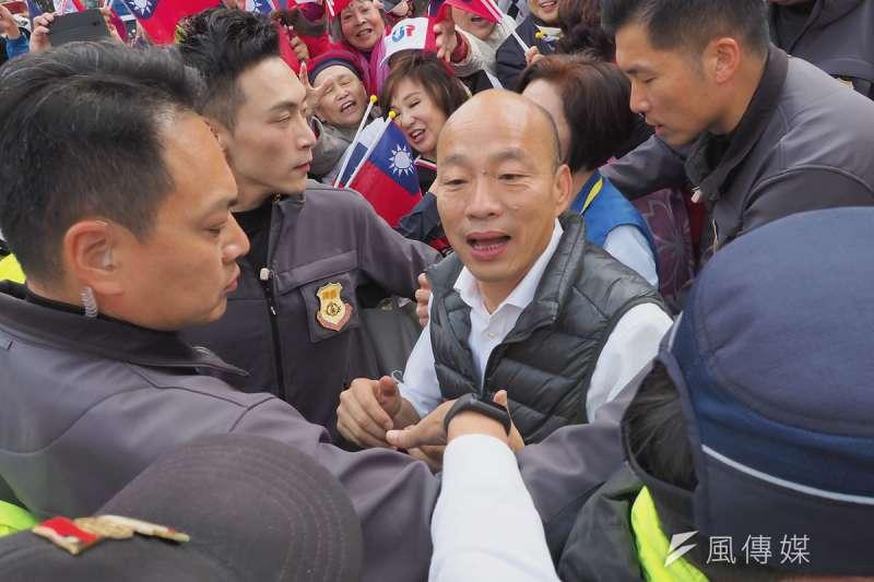 國民黨內評估,韓國瑜角逐直轄市長的可能性高於搶黨主席。(林瑞慶攝)