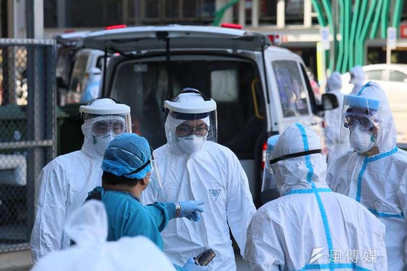 外國疫情嚴重,國門成為台灣防疫最重要的防線。(柯承惠攝)