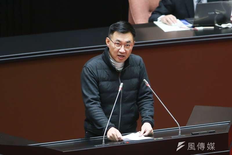 國民黨主席江啟臣在臉書呼籲民眾加入連署,強調民進黨不願與民眾溝通,要民眾用選票告訴政府人民的期待。(資料照,顏麟宇攝)