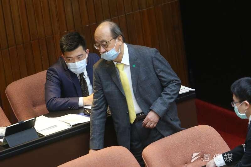 日本政府二年後將福島核廢水排入海,國民黨團將在立院提案要求政府因應,民進黨總召柯建銘回應也會提對案。(資料照片,顏麟宇攝)