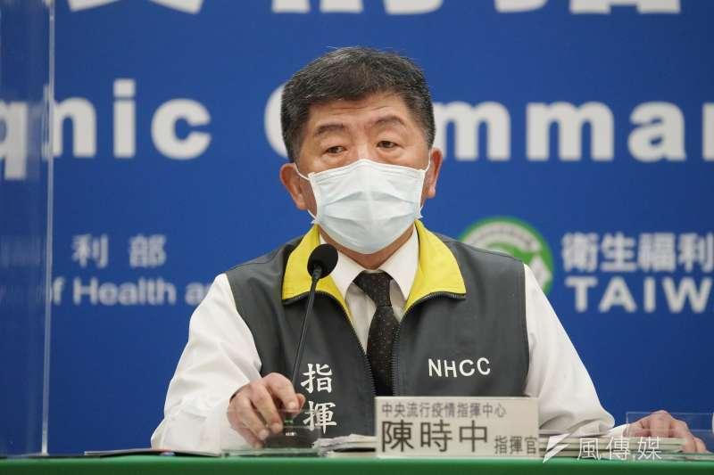 北京國台辦發言人以「這位先生」稱呼我中央防疫指揮官陳時中。(盧逸峰攝)