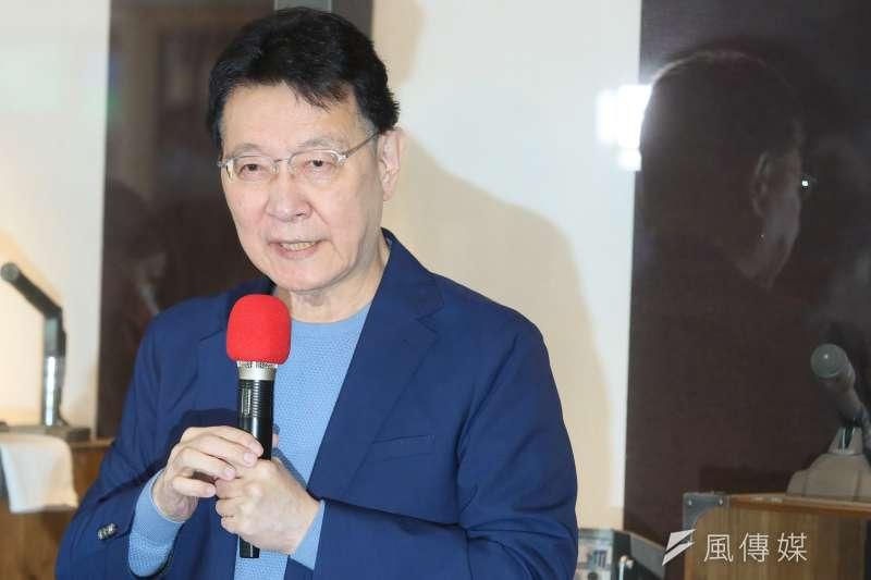 現年70歲的中廣董事長趙少康認為,自己重返國民黨本身就有重大意義,盼能讓年輕新血注入國民黨。(資料照,柯承惠攝)
