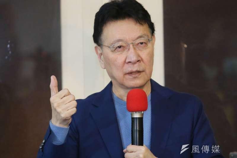 《中廣》董事長趙少康(見圖)接任國民黨中評委,引發違反《廣電法》的疑慮。(資料照,柯承惠攝)