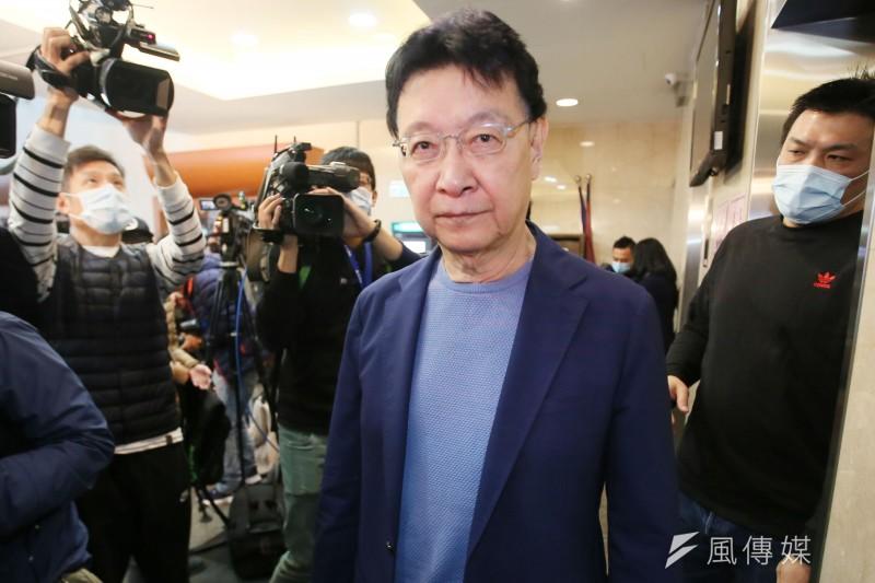 中廣董事長趙少康1日宣布重返國民黨,並有意參選國民黨主席。(資料照,柯承惠攝)