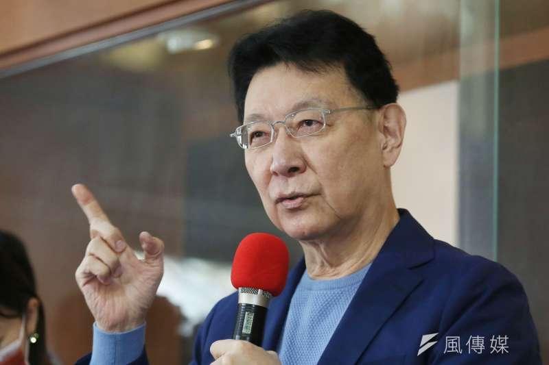 中廣董事長趙少康1日對外說明將重返國民黨一事。(資料照,柯承惠攝)