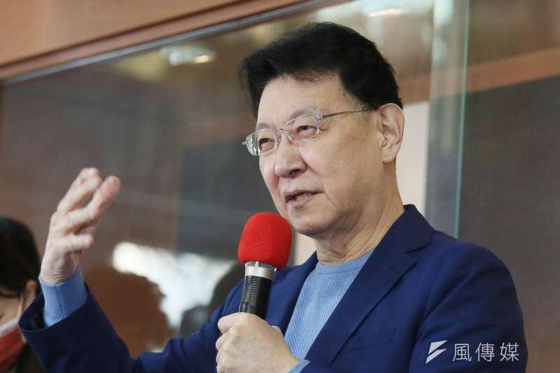 中廣董事長趙少康有意參選黨主席的消息,引起熱議。(資料照,柯承惠攝)