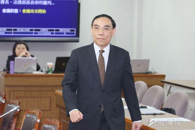 法務部長蔡清祥上任後,特別喜歡晉用年輕又會辦案的檢察長。(柯承惠攝)