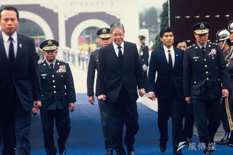 65歲的李登輝接掌政權,準備邁開大步,開展自己的時代,經營他理想中的「大台灣」。(陳愷巨攝)