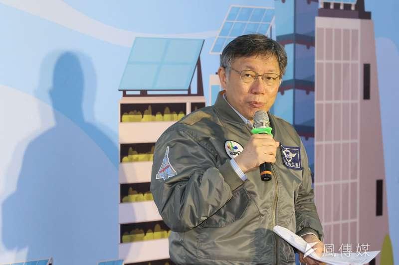 對以白色力量自詡的柯文哲和民眾黨北市長候選人而言,台北市近33萬張的流動選票至關重要。(柯承惠攝)