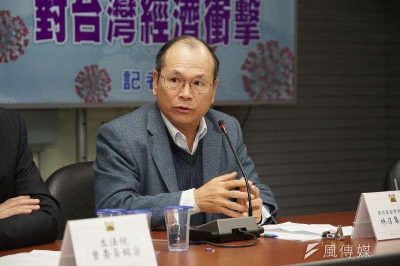 國發會前主委林祖嘉(見圖)表示,2020台灣對中貿易順差達800億美元,且出口量占台灣整體出口超過4成,顯示兩岸經貿往來無可取代。(資料照,盧逸峰攝)