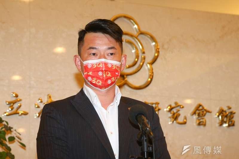 國民黨台北市議員羅智強認為,立委陳柏惟(見圖)與民進黨桃園市前議員王浩宇有非常多相近性,被罷免機率從理論來看是比較高。(資料照,顏麟宇攝)