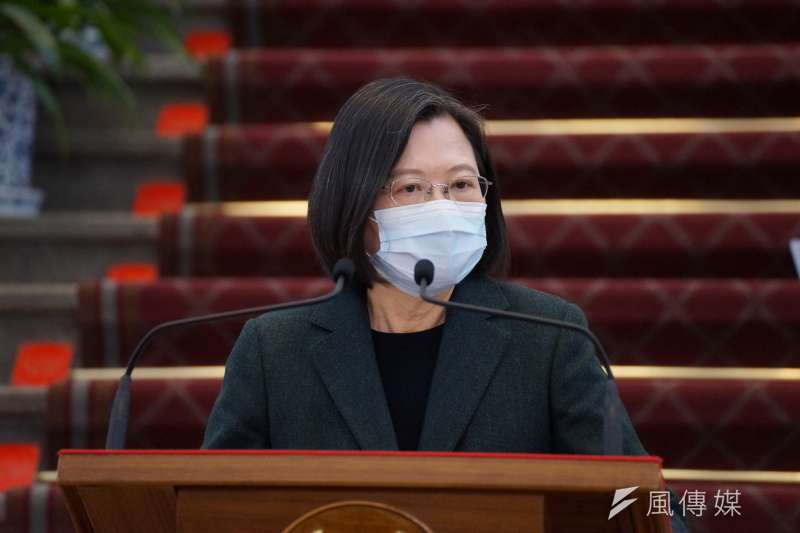總統蔡英文29日下午發表線上談話表示,台美貿易暨投資架構協定(TIFA)會談將於30日復談,這是台灣對外貿易非常重要的一大步。(資料照,盧逸峰攝)