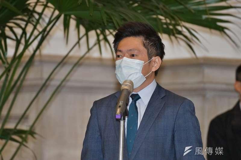 張惇涵批在野黨亂於日本政府排放核廢水事件上貼政治標籤。(資料照,盧逸峰攝)