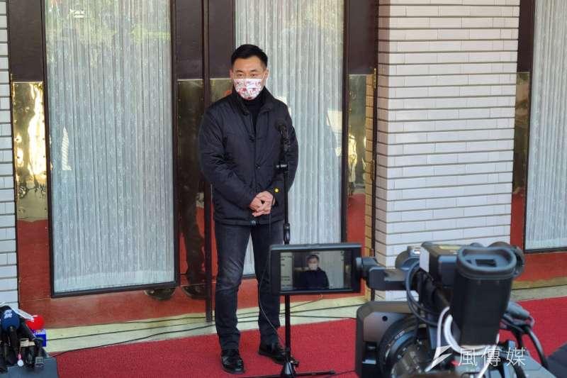 江啟臣20日在臉書發出宣言,正式爭取國民黨主席連任。(資料照,潘維庭攝)