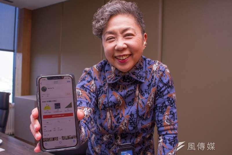 20210129-巨大集團董事長杜綉珍專訪。(蔡親傑攝)
