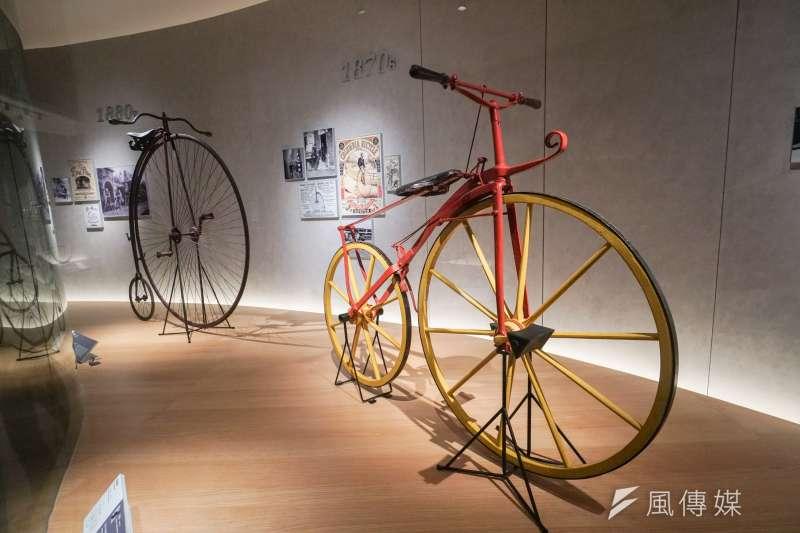 20210129-巨大集團董事長杜綉珍專訪,圖為巨大集團自行車文化探索館。(蔡親傑攝)