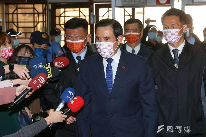 前總統馬英九稱政府拒絕九二共識,港府才會堅持簽署「一中承諾書」。(資料照,顏麟宇攝)