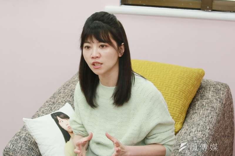 民進黨立委高嘉瑜指出,她的立場是轉達民意、照顧醫護、保護孕婦。(資料照,柯承惠攝)