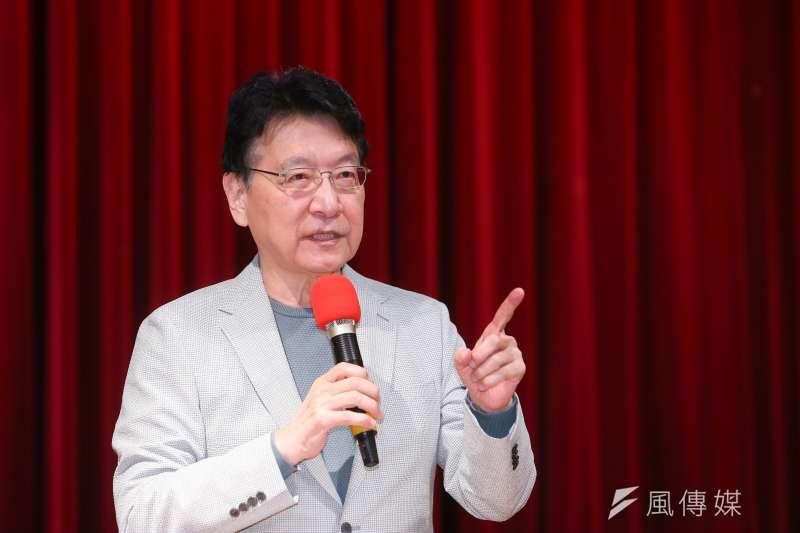 趙少康(圖)認為國民黨要處理好邀請柯文哲演講一事,不要因此內鬨。(顏麟宇攝)