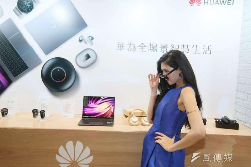 華為,5G的領先廠商(柯承惠攝)