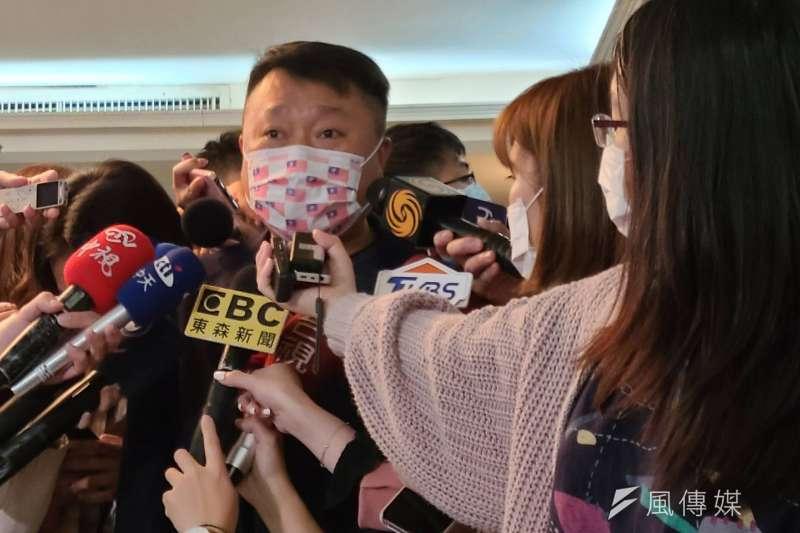 李哲華25日下午出席國民黨智庫「立法實務研討會」。(潘維庭攝)