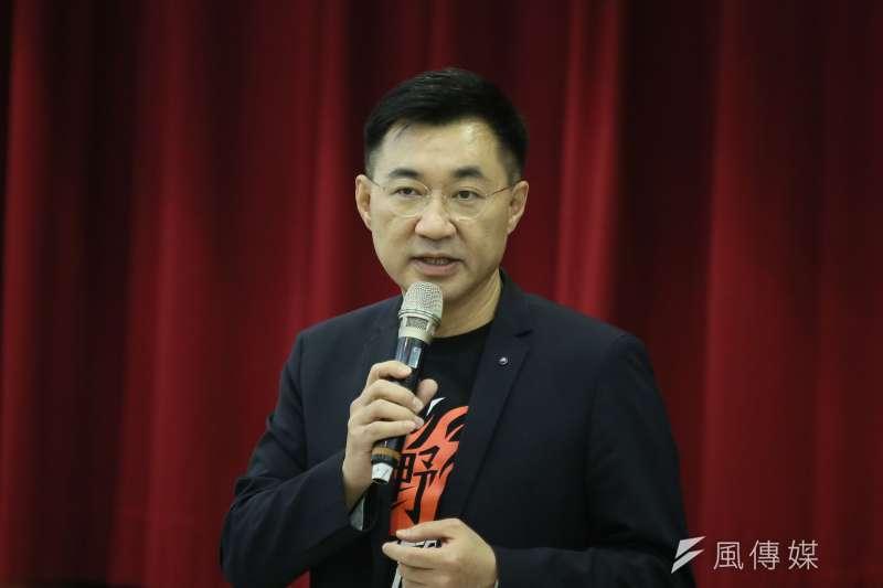 國民黨主席江啓臣提出「九二共識Plus」。(資料照,柯承惠攝)