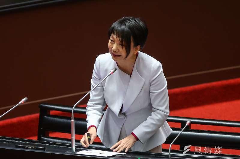 20210226-民進黨立委范雲26日於院會質詢。(顏麟宇攝)