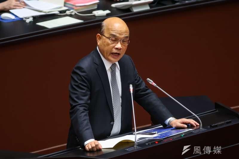 台北市議員羅智強以台裔球員林書豪的例子,嗆行政院長蘇貞昌「丟盡台灣人的臉」。(資料照,顏麟宇攝)