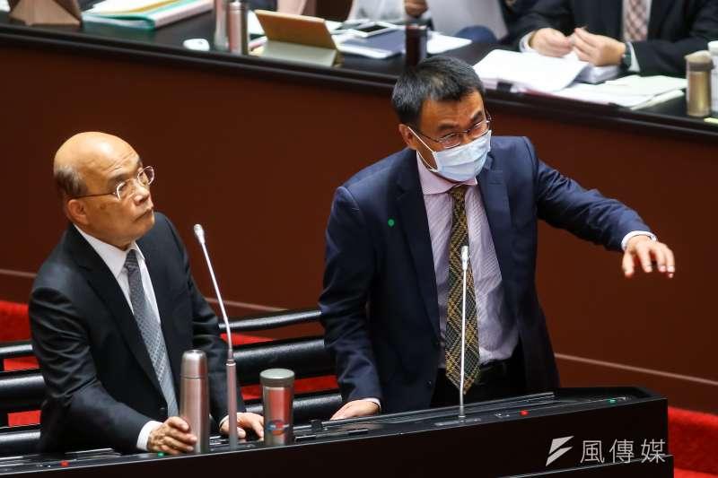 20210226-農委會主委陳吉仲26日於院會備詢。(顏麟宇攝)