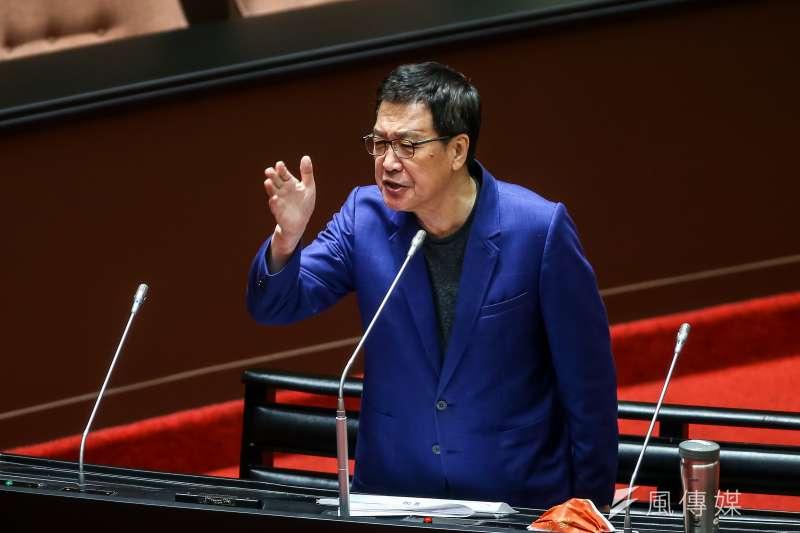 國民黨立委費鴻泰(見圖)指出,中華電信要掏空將來銀行。(資料照,顏麟宇攝)