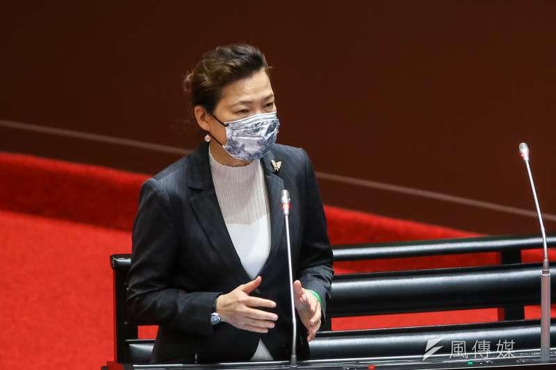 20210226-經濟部長王美花26日於院會備詢。(顏麟宇攝)