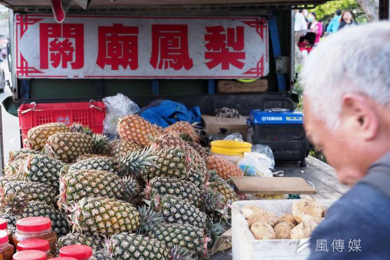 近期中國宣布1日起暫停輸入台產鳳梨,將嚴重影響台灣農漁民。(資料照,柯承惠攝)