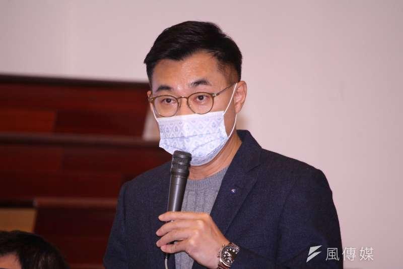 已宣布爭取連任的國民黨主席江啟臣,在7日上任滿1周年時,透過臉書發布「破浪前行的365天」短片。(資料照,蔡親傑攝)