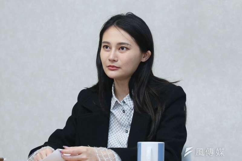 20210304-立委賴品妤談吳思瑤罷免案。(柯承惠攝)