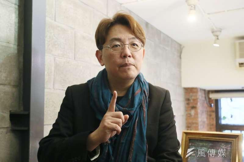 20210305-專訪作家郭強生 。(柯承惠攝)