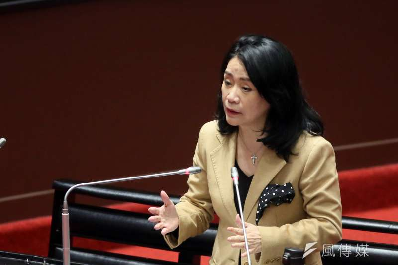 20210309-立委李貴敏9日在立法院質詢。(柯承惠攝)