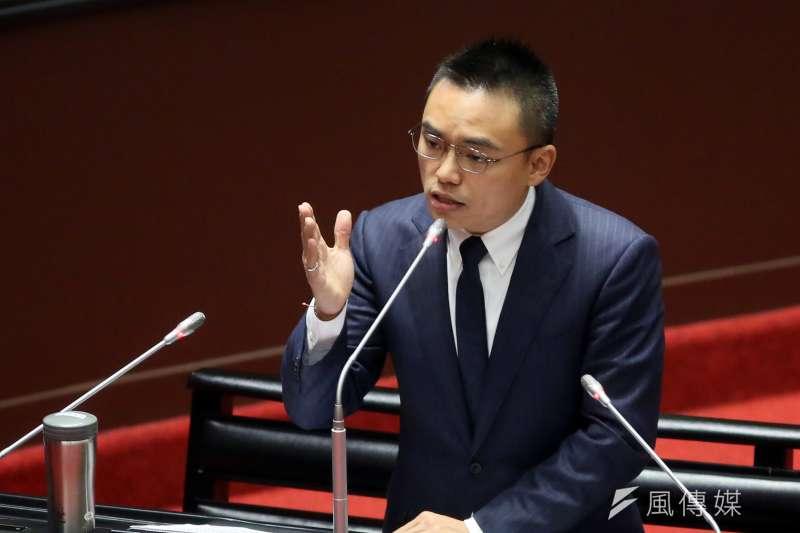 洪孟楷指控民進黨立委用國會人數多的優勢,將民眾關心的疫情有關議案全部擋下。(資料照,柯承惠攝)