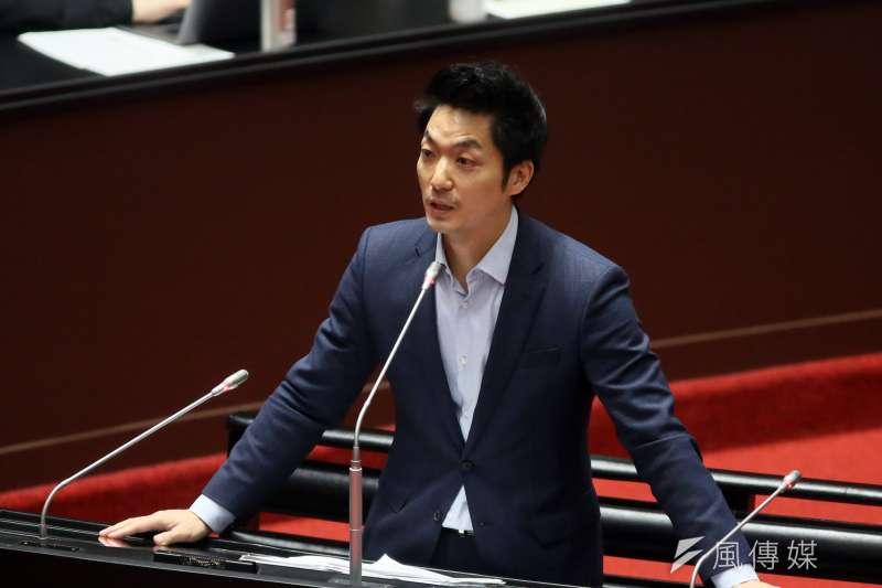 20210309-立委蔣萬安9日在立法院質詢。(柯承惠攝)