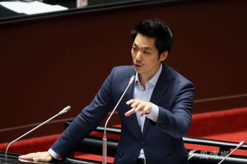 被看好為藍營「反攻」北市的國民黨立委蔣萬安,近日傳出正籌組智庫「跨領域創新協會」。(資料照,柯承惠攝)