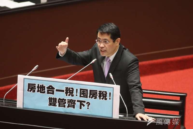 民進黨立委江永昌(見圖)12日在司法及法制委員會質詢時質疑,難道「國家沒有法律」,居然任憑警察威嚴掃地。(資料照,柯承惠攝)