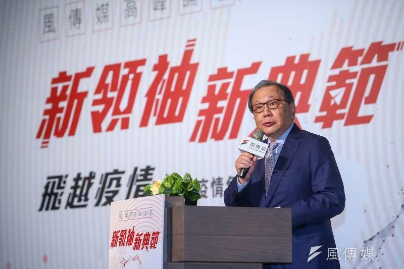 聯發科執行長蔡力行(見圖)11日出席《風傳媒》舉辦「新領袖‧新典範」高峰論壇。(顏麟宇攝)