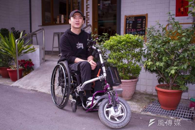 20210311-「椅人」YouTuber LEO專訪。(蔡親傑攝)