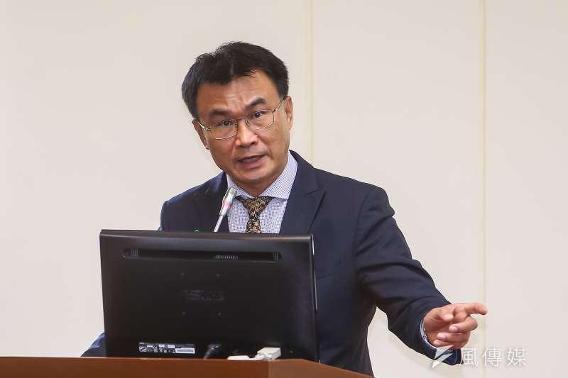 20210311-農委會主委陳吉仲11日於經濟委員會備詢。(顏麟宇攝)