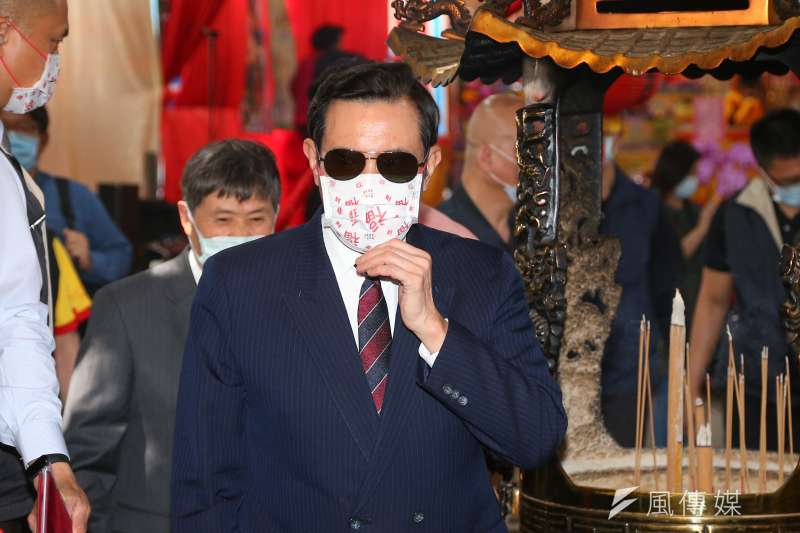 有媒體指前總統馬英九主張將核四遷到台中,馬英九辦公室今日駁斥此一說法。(資料照片,顏麟宇攝)