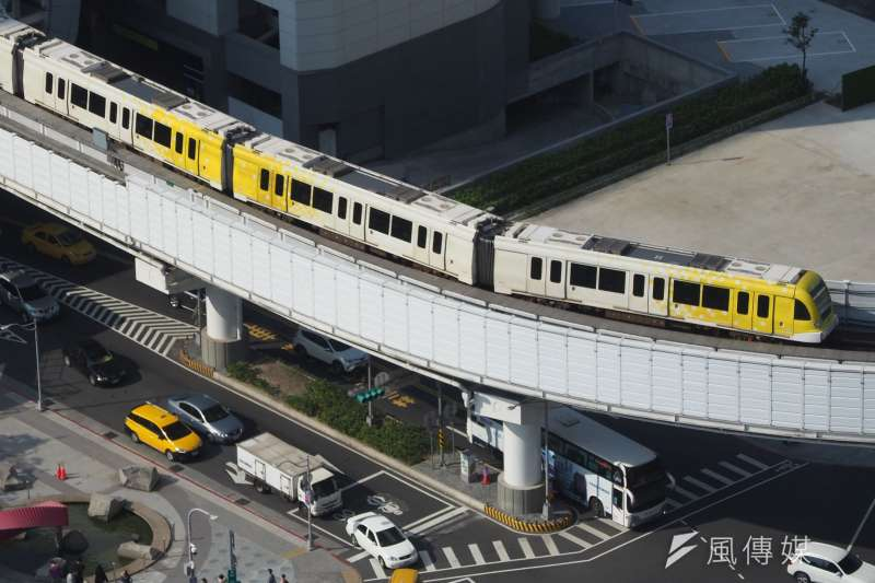 20210314-台北捷運環狀線。(柯承惠攝)