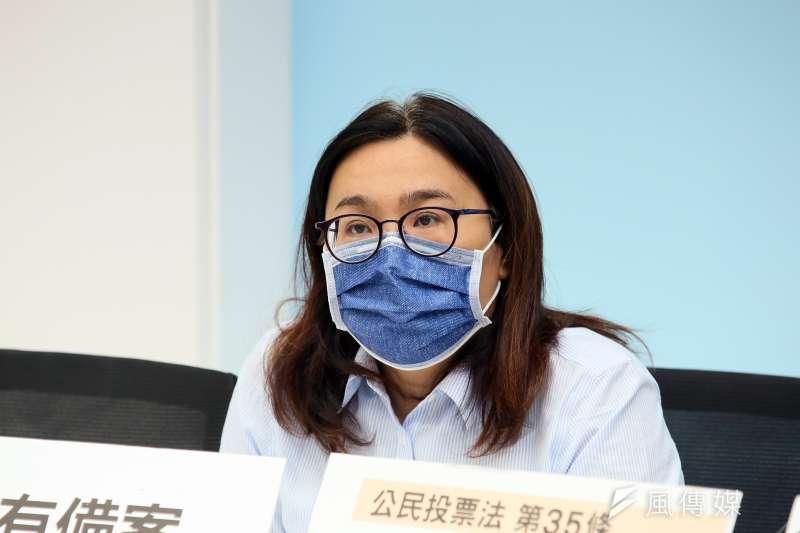 國民黨立委陳玉珍(見圖)指出,集中檢疫所存在混住情形。(資料照,柯承惠攝)