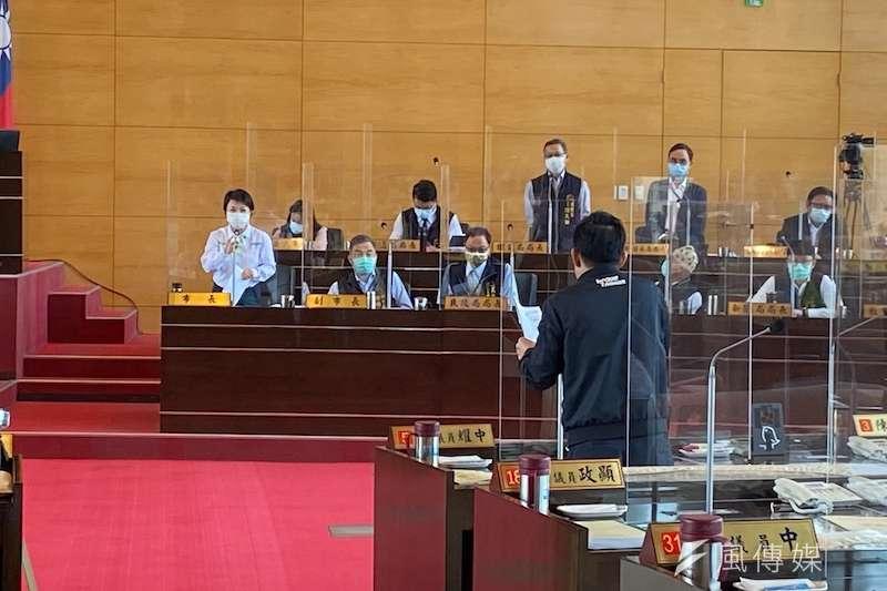 台中市議會臨時會中,多位議員關心乾旱災情。(圖/記者王秀禾攝)